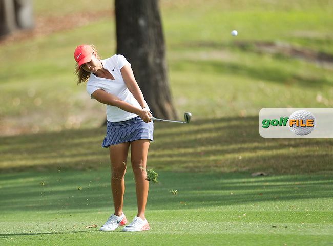 Cheyenne Woods on the 8th during the First round of the LPGA Coates Golf Championship 2016 , from the Golden Ocala Golf and Equestrian Club, Ocala, Florida. 3/2/16<br /> Picture: Mark Davison | Golffile<br /> <br /> <br /> All photos usage must carry mandatory copyright credit (&copy; Golffile | Mark Davison)