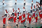 North Korea Delegation (PRK), <br /> MARCH 9, 2018 - : <br /> PyeongChang 2018 Paralympics Winter Games Opening Ceremony <br /> at PyeongChang Olympic Stadium in Pyeongchang, South Korea. <br /> (Photo by Sho Tamura/AFLO SPORT)