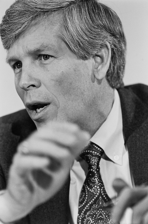 Sen. Connie Mack III, R-Fla. at Senate Legislative Appropriation Hearing on Feb. 25, 1993. (Photo by Laura Patterson/CQ Roll Call)