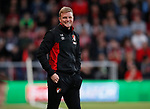 Eddie Howe manager of Bournemouth during the premier league match at the Vitality Stadium, Bournemouth. Picture date 18th April 2018. Picture credit should read: David Klein/Sportimage