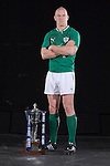 Paul O'Connell (Ireland) at the official launch of the RBS Six Nations rugby tournament at the Hurlingham Club in London..