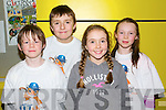Pictured at the IT North Campus Creative Media Awards were l-r: Kyle O'Connor (Nohoval NS Ballymacelligott) Jack Tobin (Nohoval NS Ballymacelligott) Milly Luck (Nohoval NS, Ballymacelligott) and Eve Creedon (Nohoval NS Ballymacelligott)..