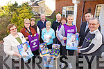 COLLECTION: Launching the annual Forget Me Not collection for the Irish Kidney Association in Tralee on Tuesday were, l-r: Ellen Flanagan, Sinead Cotter, Pauline Howard, Robert Howard, Anne Loughnane, Derry Griffin, Noreen Kelly, Barry John Keane, Darragh O Se, Pat Dowling.