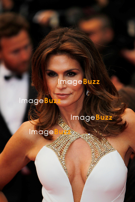 CPE/Cindy Crawford attends the Opening Ceremony and 'The Great Gatsby' Premiere during the 66th Annual Cannes Film Festival at the Theatre Lumiere on May 15, 2013 in Cannes, France.