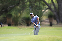 Dimitrios Papadatos (AUS) in action on the 1st during Round 1 of the ISPS Handa World Super 6 Perth at Lake Karrinyup Country Club on the Thursday 8th February 2018.<br /> Picture:  Thos Caffrey / www.golffile.ie<br /> <br /> All photo usage must carry mandatory copyright credit (&copy; Golffile | Thos Caffrey)