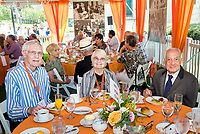 (Photo by Don Milici, Freelance)<br /> <br /> The celebration of our new and returning Fifty Year Club members, and the five year reunion classes, continues at this luncheon, Thorne Hall patio.<br /> <br /> Occidental College hosts its annual Alumni Reunion Weekend, June 22-24, 2018 on campus. This year, alumni from the classes of 1968, 1973, 1978, 1983, 1988, 1993, 1998, 2003, 2008 and 2013 gathered to reconnect with friends and family in the Oxy community.<br /> <br /> (Photo by Don Milici, Freelance)