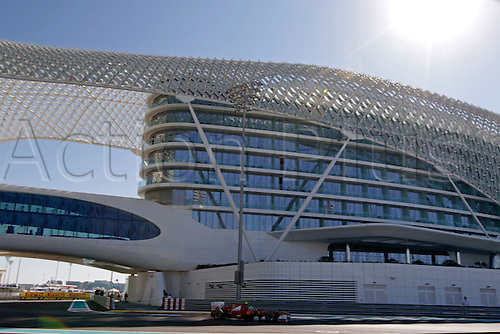 11.11.2011 Abu Dhabi, United Arab Emirates.  Motorsports: FIA Formula One World Championship 2011, Grand Prix of Abu Dhabi, 06 Felipe Massa (BRA, Scuderia Ferrari Marlboro), during the practice day of the FIA Formula One Grand Prix of Abu Dhabi UAE.