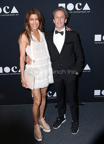 LOS ANGELES, CA - MAY 14: Brian Grazer, Veronica Smiley arrives at the MOCA Gala 2016 at The Geffen Contemporary at MOCA on May 14, 2016 in Los Angeles, California. Credit: Parisa/MediaPunch.