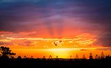 NEW ZEALAND, Auckland, Sunset over Auckland, Ben M Thomas