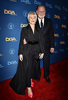 HOLLYWOOD, CA - FEBRUARY 02: Helen Mirren (L) and Taylor Hackford attend the 71st Annual Directors Guild Of America Awards at The Ray Dolby Ballroom at Hollywood &amp; Highland Center on February 02, 2019 in Hollywood, California.<br /> CAP/ROT/TM<br /> &copy;TM/ROT/Capital Pictures