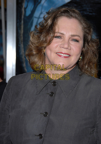 "KATHLEEN TURNER.""Monster House"" Los Angeles Premiere held at Mann Village Theater, Westwood, Californi, USA,.17 July 2006..portrait headshot grey shirt buttoned up.Ref: ADM/CH.www.capitalpictures.com.sales@capitalpictures.com.©Charles Harris/AdMedia/Capital Pictures."
