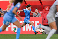Bridgeview, IL - Sunday September 03, 2017: Taylor Comeau during a regular season National Women's Soccer League (NWSL) match between the Chicago Red Stars and the North Carolina Courage at Toyota Park. The Red Stars won 2-1.