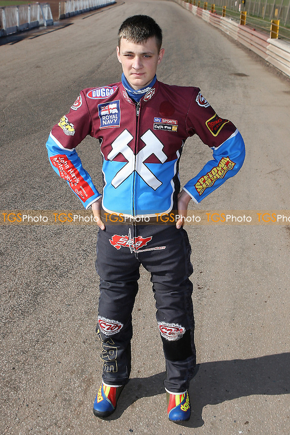 Shane Hazelden of Lakeside Hammers - Lakeside Hammers Speedway Press & Practice Day at Arena Essex Raceway, Purfleet, Essex - 23/03/11 - MANDATORY CREDIT: Gavin Ellis/TGSPHOTO - Self billing applies where appropriate - Tel: 0845 094 6026