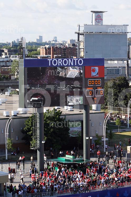 Fussball International U 20 WM  Feature National Soccer Stadion in Toronto.
