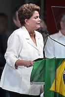 BRASÍLIA, DF, 26.10.2014 – ELEIÇOES 2014 – DILMA ROUSSEFF REELEITA – A presidente do Brasil, Dilma Rousseff comemora sua reeleição, no Hotel Royal Tulip Alvorada na cidade de Brasília (DF), neste domingo (26). (Foto: Ricardo Botelho / Brazil Photo Press)