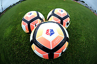 Boyds, MD - Saturday May 6, 2017:  NWSL game balls prior to a regular season National Women's Soccer League (NWSL) match between the Washington Spirit and Sky Blue FC at Maureen Hendricks Field, Maryland SoccerPlex.