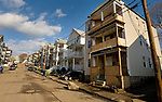 WATERBURY, CT-121917JS04---Some of the vacant homes on Vermont Street in Waterbury on Tuesday. The city has launched a new blight department following a study about the extent of blight. <br /> Jim Shannon Republican-American