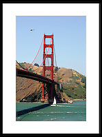 Golden Gate Bridge in San Fransico, California. © Andrew Shurtleff