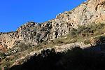 The Sanctuary of Pla de Petracos, near Castell de Castells, Marina Alta, Alicante province, Spain site of Neolithic rock paintings