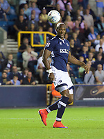 Tom Elliott of Millwall during the Sky Bet Championship match between Millwall and Ipswich Town at The Den, London, England on 15 August 2017. Photo by Alan  Stanford / PRiME Media Images.