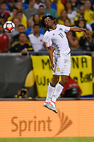 Chicago, IL - Wednesday June 22, 2016: Juan Cuadrado during a Copa America Centenario semifinal match between Colombia (COL) and Chile (CHI) at Soldier Field.