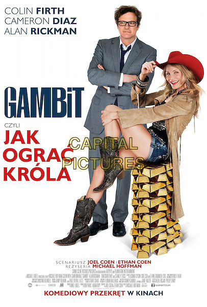 POLISH POSTER ART<br /> in Gambit (2012) <br /> *Filmstill - Editorial Use Only*<br /> CAP/FB<br /> Image supplied by Capital Pictures