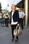 Esperanza Aguirre visits San Isidro funeral home following the death of Miguel Boyer in Madrid, Spain. September 29, 2014. (ALTERPHOTOS/Victor Blanco)