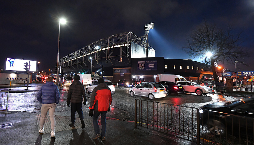 A general view of The Hawthorns, home of West Bromwich Albion<br /> <br /> Photographer Dave Howarth/CameraSport<br /> <br /> The EFL Sky Bet Championship - West Bromwich Albion v Preston North End - Tuesday 25th February 2020 - The Hawthorns - West Bromwich<br /> <br /> World Copyright © 2020 CameraSport. All rights reserved. 43 Linden Ave. Countesthorpe. Leicester. England. LE8 5PG - Tel: +44 (0) 116 277 4147 - admin@camerasport.com - www.camerasport.com