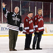 Mark Walsh, Bill Cleary, Scott Farden - The Union College Dutchmen defeated the Harvard University Crimson 2-0 on Friday, January 13, 2011, at Fenway Park in Boston, Massachusetts.