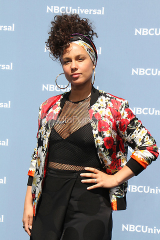 NEW YORK, NY - MAY 16: Alicia Keys at the NBCUniversal 2016 Upfront at Radio City Music Hall in New York City on May 16, 2016. Credit: RW/MediaPunch