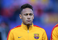 FUSSBALL CHAMPIONS LEAGUE  SAISON 2015/2016 VIERTELFINAL RUECKSPIEL Atletico Madrid - FC Barcelona       13.04.2016 Neymar (Barca)