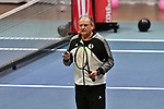 05.01.2018, Estrel Congress Center, Berlin, GER,  Internationaler DTB Tenniskongress 2019 <br /> <br /> im Bild Hans-Peter Born doziert ueber das Thema Update Tennistraining 2019<br /> <br /> Foto &copy; nordphoto/Mauelshagen