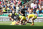 Lote Raikabula. The All Blacks Sevens beat Australia 24-10. London, England. Photo: Marc Weakley