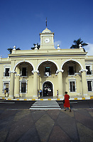 The Palacio Municipal or City Hall in Santa Ana, the second largest city in El Salvador, Central America