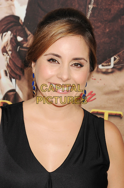 "Karyme Lozano.The Los Angeles premiere of ""For Greater Glory"" at the AMPAS Samuel Goldwyn Theater in Beverly Hills, California, USA..May 31, 2012.headshot portrait black .CAP/ROT/TM.© TM/Roth/Capital Pictures"
