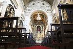 Interior of Carmo (Carmen) Church, Porto - Oporto, Douro Litoral, Portugal