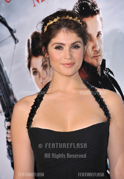 "Gemma Arterton at the Los Angeles premiere of her new movie ""Hansel & Gretel: Witch Hunters"" at Grauman's Chinese Theatre, Hollywood..January 24, 2013  Los Angeles, CA.Picture: Paul Smith / Featureflash"