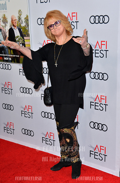 "LOS ANGELES, CA. November 10, 2018: Ann-Margret at the AFI Fest 2018 world premiere of ""The Kominsky Method"" at the TCL Chinese Theatre.<br /> Picture: Paul Smith/Featureflash"