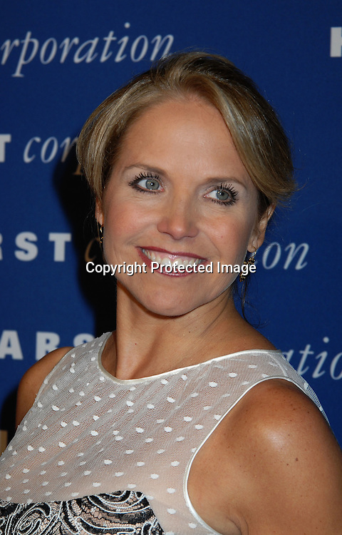 Katie Couric..arriving at Opening of The Hearst Tower on October 9, 2006 at The Hearst Building. ..Robin Platzer, Twin Images