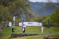 Justin Thomas (USA) hits his tee shot on 11 during day 3 of the World Golf Championships, Dell Match Play, Austin Country Club, Austin, Texas. 3/23/2018.<br /> Picture: Golffile | Ken Murray<br /> <br /> <br /> All photo usage must carry mandatory copyright credit (&copy; Golffile | Ken Murray)