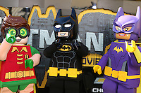 "LOS ANGELES - FEB 4:  Lego Robin, Lego Batman, Lego Batgirl at the ""Lego Batman Movie"" Premiere at Village Theater on February 4, 2017 in Westwood, CA"