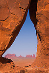 Teardrop Arch, Monument Valley, Arizona