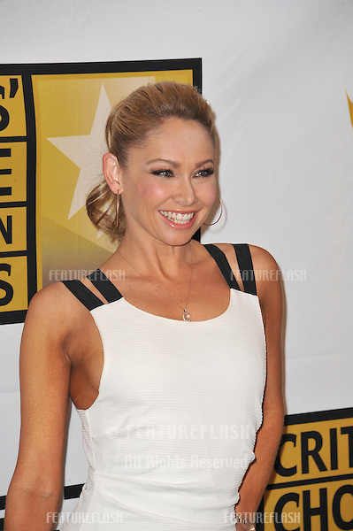 Kym Johnson at the inaugural Critics' Choice Television Awards, presented by the Broadcast Television Journalists Association, at the Beverly Hills Hotel..June 20, 2011  Beverly Hills, CA.Picture: Paul Smith / Featureflash