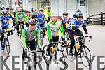 The rolling start at the Lacey Cup Cycle on Sunday