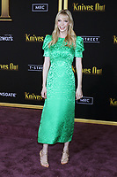 "LOS ANGELES - NOV 14:  Riki Lindhome at the ""Knives Out"" Premiere at Village Theater on November 14, 2019 in Westwood, CA"