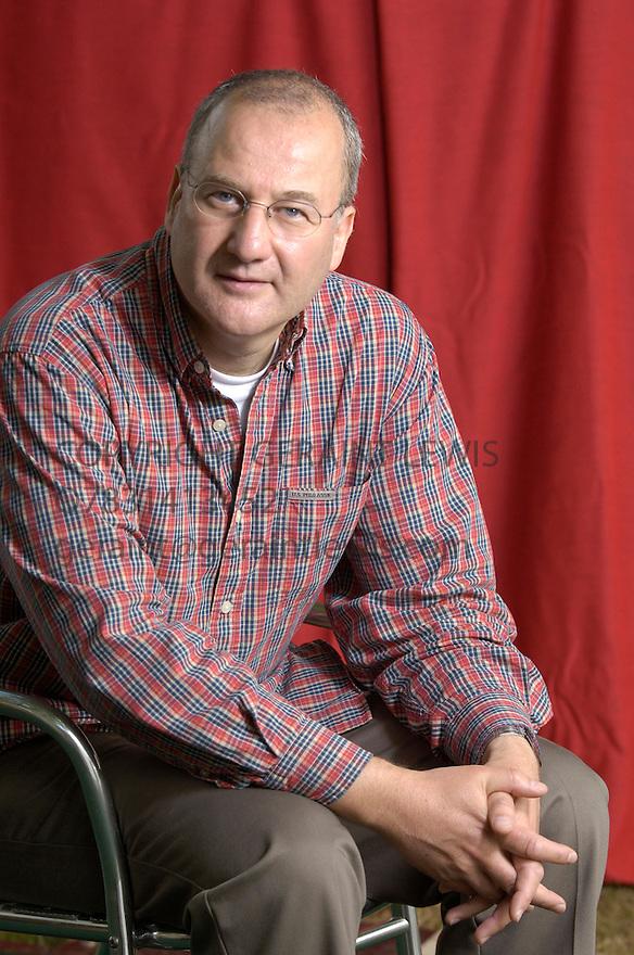 Michael Mail,Scotish novelist,whose new novel is Exposure. CREDIT Geraint Lewis