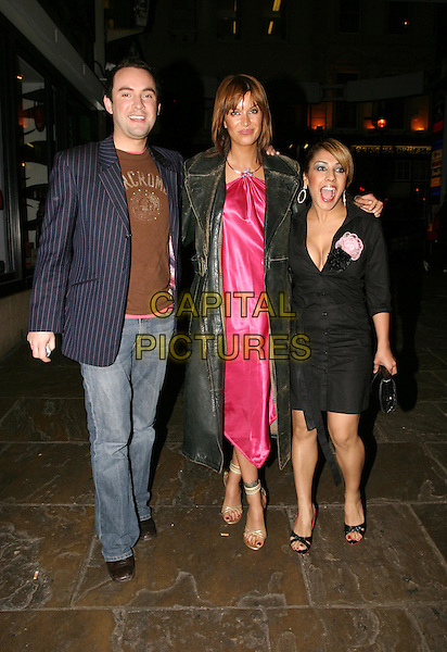 """CATALINA GUIRADO & NARINDER KAUR.London's Hippodrome nightclub re-opens its doors as """"Cirque"""" with a star studded party.01 April 2004.full length, full-length.www.capitalpictures.com.sales@capitalpictures.com.© Capital Pictures."""