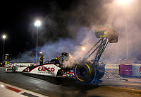 Apr 20, 2018; Baytown, TX, USA; NHRA top fuel driver Steve Torrence during qualifying for the Springnationals at Royal Purple Raceway. Mandatory Credit: Mark J. Rebilas-USA TODAY Sports
