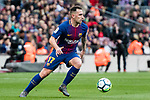 Francisco Alcacer Garcia, Paco Alcacer, of FC Barcelona in action during the La Liga 2017-18 match between FC Barcelona and Getafe FC at Camp Nou on 11 February 2018 in Barcelona, Spain. Photo by Vicens Gimenez / Power Sport Images