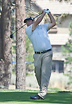 August 3, 2012: Steven Bowditch from Queensland, Australia tees off on the 13th hole during the second round of the 2012 Reno-Tahoe Open Golf Tournament at Montreux Golf & Country Club in Reno, Nevada.